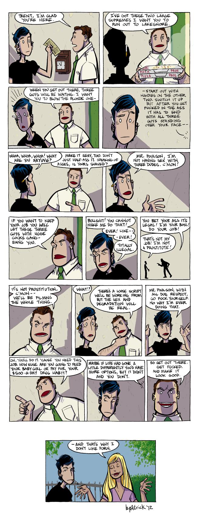 prostitute comics